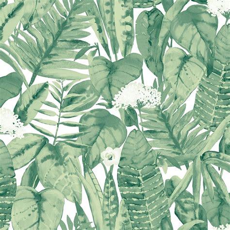 Tropical Jungle tropical jungle green tempaper designs