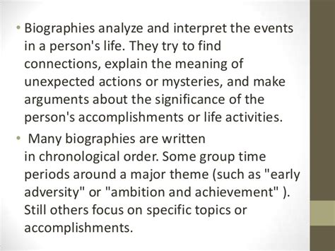 autobiography meaning an introduction to autobiography and biography