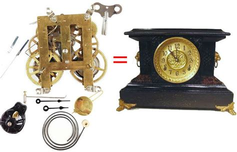 part of an old clock now a piece of art hmm vintage antique clock movement replacements clockworks