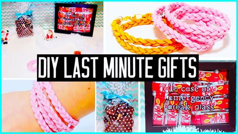 diy last minute gift ideas for boyfriend parents bff