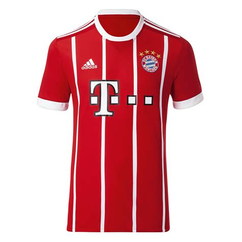 bayern munich 2017 18 youth home jersey soccer plus