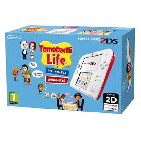 nintendo 2ds console nintendo 2ds console tomodachi bundle 3ds 2ds