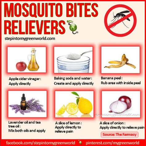 mosquito bites relievers they work for the best spray