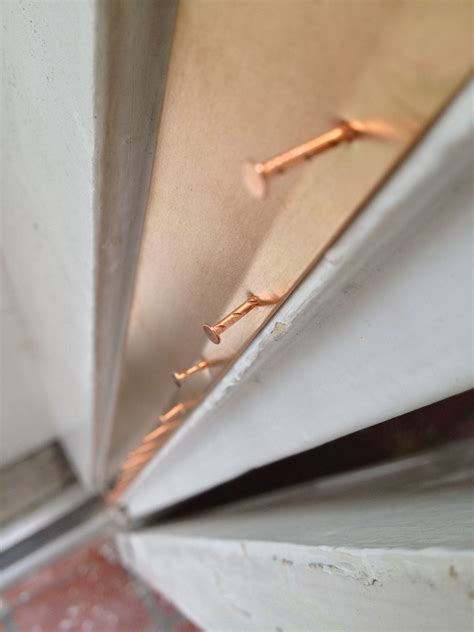 how to install bronze weatherstripping the