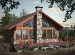 Cottage Plans With Loft Maison Neuve Chalets Mod 232 Le St Donat