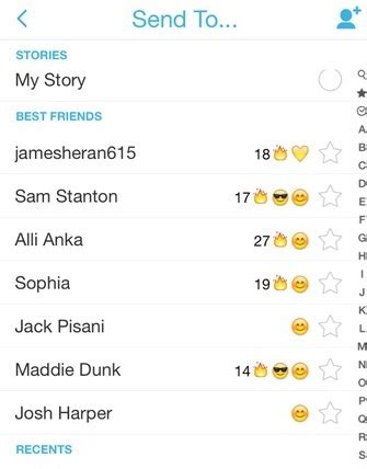 how to see snap best friends snapchat best friends know your emoji