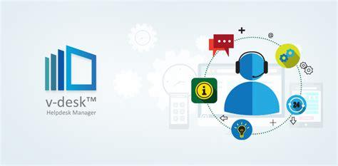 Cloud Based Help Desk by V Desk Helpdesk Automation And Complaint Management