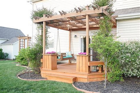 build porch swing build a porch swing
