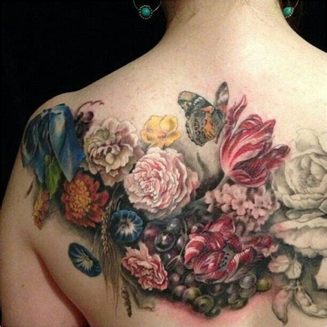 flower bouquet tattoo from delicate to rebellious 40 fabulous flower tattoos
