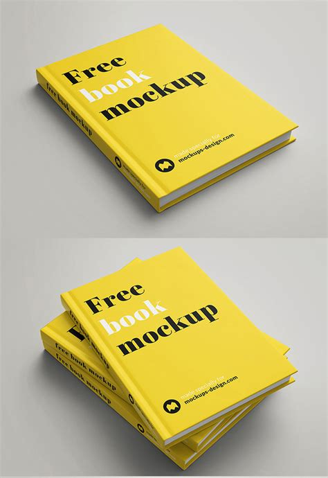 psd templates for book covers psd book cover mockup template free