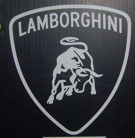 Lamborghini Stickers Lamborghini Logo Car Vinyl Decal Sticker 036z Ebay