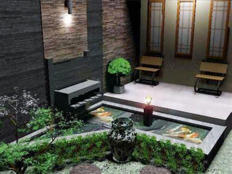 desain interior teras depan rumah inspirasi desain teras cantik untuk rumah minimalis si momot