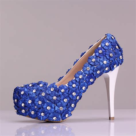 royal blue flower shoes royal blue flower shoes 28 images royal blue flower