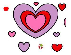corazones imgenes de corazones dibujos de corazones dibujo de mis corazones pintado por vili en dibujos net