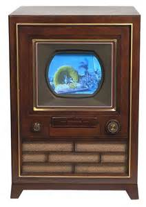 when was the color tv communication media technology the television the