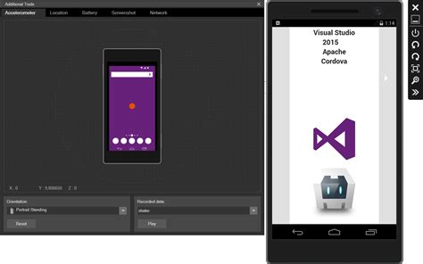 visual studio android visual studio 2015 and apache cordova codeproject