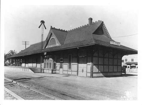 atchison topeka santa fe railway company depot san