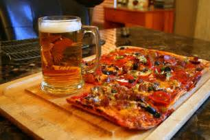 Home Plans Online pizza and beer photograph by kay novy