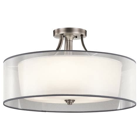 kichler 42399ap antique pewter ceiling light fixture