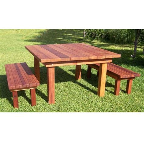 patio table bench 8 best images about jon s outdoor table ideas on pinterest