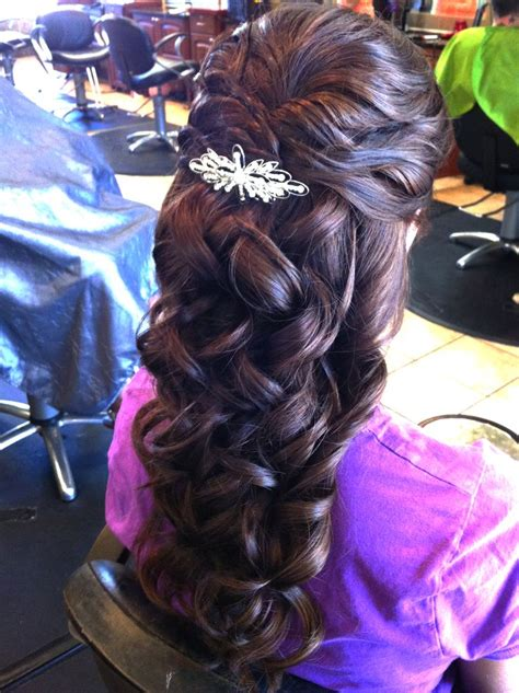 formal hairdos black ties 98 best images about half up half down updos on