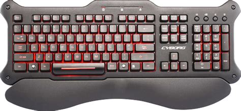 Cyborg Mouse Gaming Dpi Color Lighting Usb Cyborg X3 Ghost the gaming keyboards mice iv mad catz