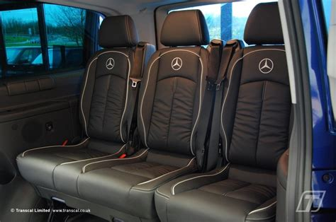 mercedes sprinter leather seat covers leather seats for mercedes vito
