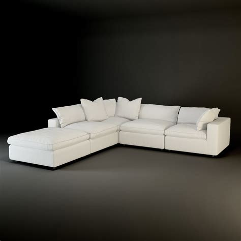 andrew sectional sofa andrew martin truman sectional sofa 3d model
