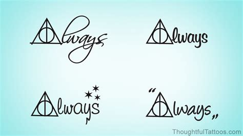 harry potter always tattoo amazing design ideas for all die harry potter fans