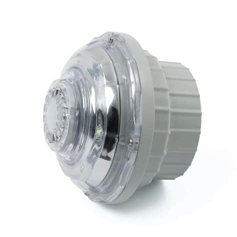 Pool Light Fixture Intex 1 5 Inch 1 5w White Led Hydroelectric Power Pool Light Fixture 28692e Ebay