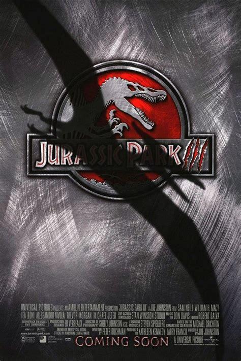 film jurassic park jurassic park iii dvd release date