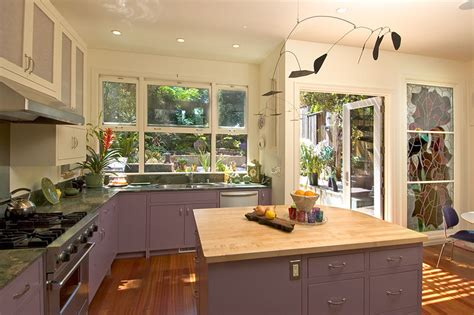 purple cabinets kitchen our favorite san francisco kitchen remodels