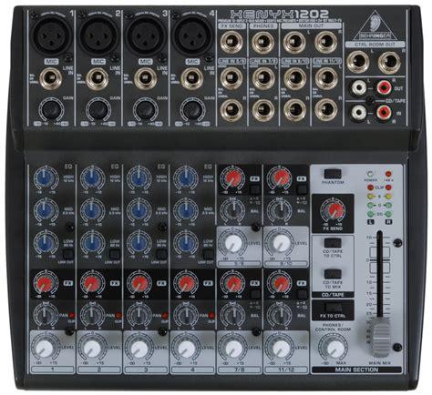 Mixer Behringer Xenyx 1202 behringer xenyx 1202 mixer