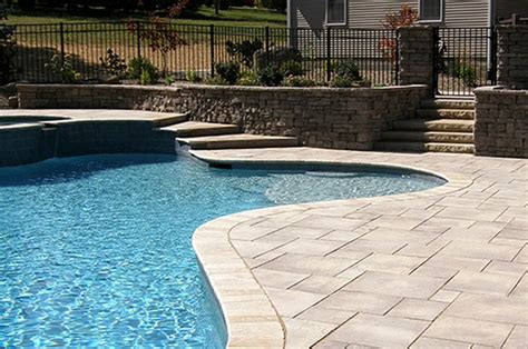 Pool Patio Designs Swimming Pool Patio Design Ideas And Supplies For Pa Md And De