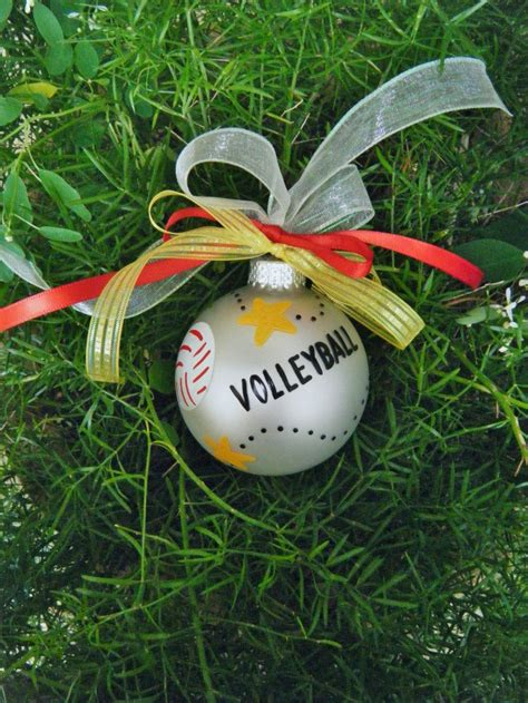 volleyball christmas tree ornaments volleyball ornament
