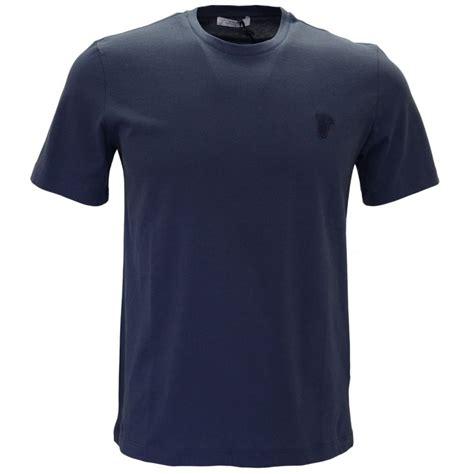 Simpple Aparel Neck Navy versace collection v800683 neck basic navy t shirt versace from n22 menswear uk