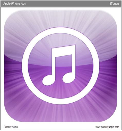 apple itunes apple files trademark for giant quot itunes quot icon for the