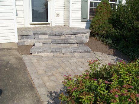 Outdoor Kitchens Pictures by Aspinall S Landscaping Custom Front Porch And Stoop Re