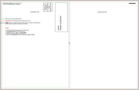 Find A Printing Template Printpapa Com 8 5 X 11 Postcard Template