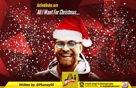 liverpool all i want for christmas is