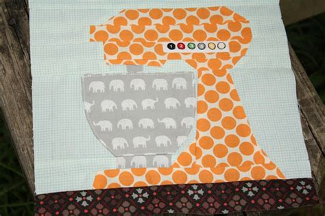 Why Not Sew?: Paper Pieced Kitchen Aid Mixer Pattern