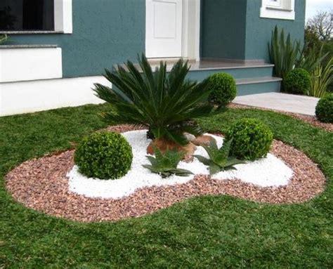 como decorar o jardim com pedras umcomo