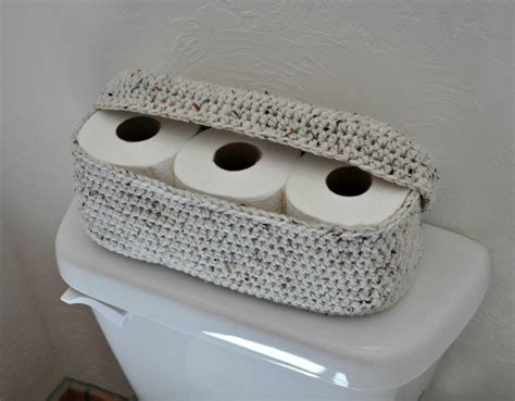 pattern paper roll holder spare roll holder toilet tissue basket by