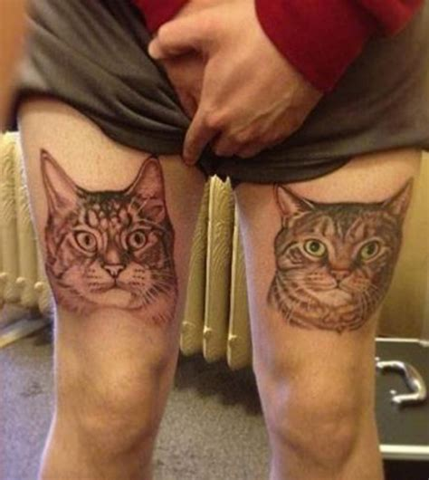 bad cat tattoo bad tattoos 14 of the worst wrong team jimmy joe