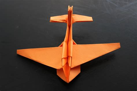 How Make Aeroplane From Paper - how to make a cool paper plane origami jimbo