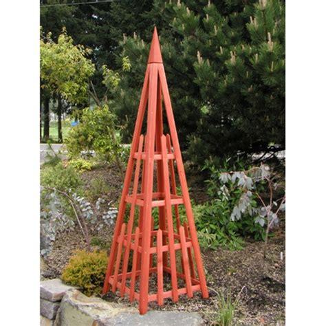 Garden Triangle Trellis 81 quot pyramid trellis free shipping