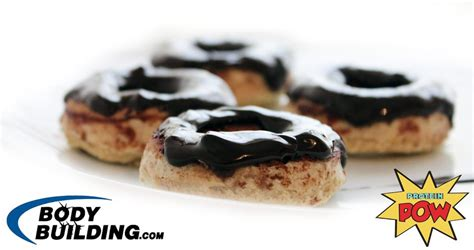protein donuts chocolate covered protein donuts protein pow
