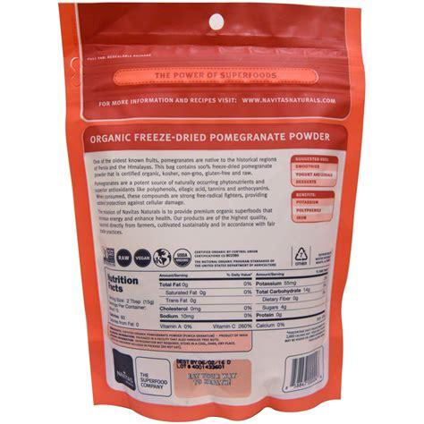 Pomegranate Detox Thc by Pomegranate Powder Navitas Vft Superfoods1 Cbd