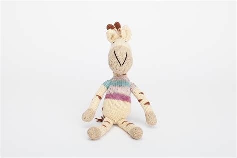 embroider on knitted toys knitted and embroidery