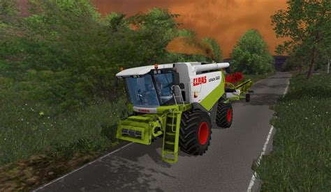 Take Out Ls Bring Tasty Lighting Solution by Claas Lexion 560 Mod Farming Simulator 17 2017 Mod